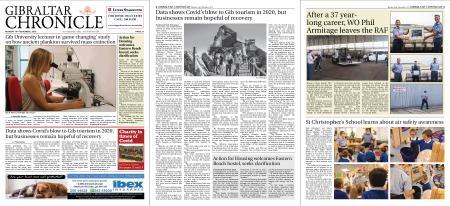 Gibraltar Chronicle – 16 November 2020