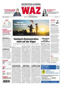WAZ Westdeutsche Allgemeine Zeitung Oberhausen-Sterkrade - 05. Oktober 2018