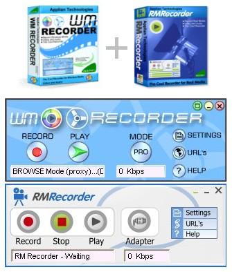 Live WM & RM Recorder v10.2 [Records online streaming]
