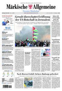 Märkische Allgemeine Zossener Rundschau - 15. Mai 2018
