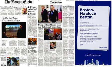 The Boston Globe – January 29, 2020