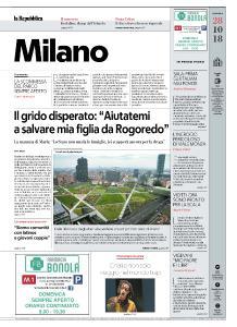 la Repubblica Milano - 28 Ottobre 2018