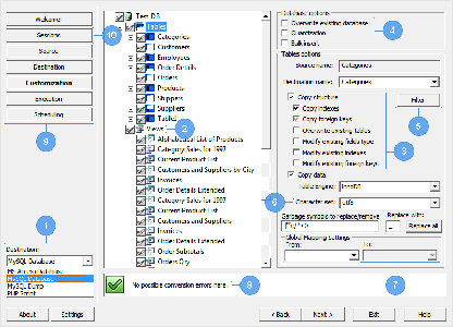 DBConvert for MS Excel & MSSQL 1.4.2