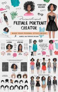 CreativeMarket - Personalised Female Portrait Creator
