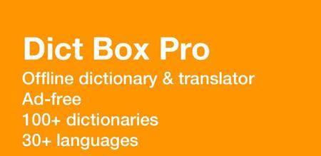 Dict Box Pro: Offline Dictionary v5.9.6 [Paid]