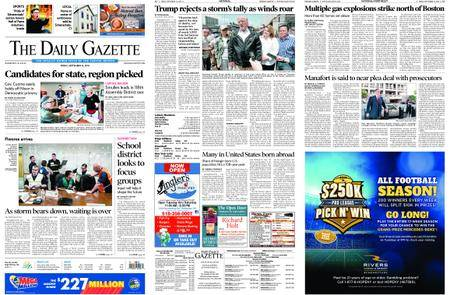 The Daily Gazette – September 14, 2018
