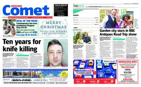 The Comet Hitchin – December 21, 2017