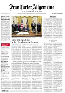 Frankfurter Allgemeine Zeitung - 14 August 2020