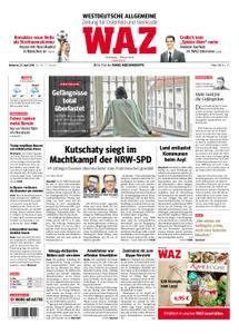 WAZ Westdeutsche Allgemeine Zeitung Oberhausen-Sterkrade - 25. April 2018