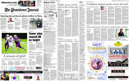 The Providence Journal – November 21, 2018