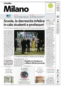 la Repubblica Milano - 3 Aprile 2019