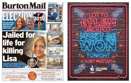 Burton Mail – December 14, 2019