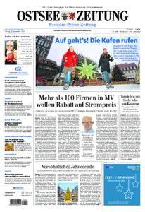 Ostsee Zeitung Wolgast - 22. Dezember 2017
