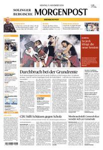 Solinger Morgenpost – 11. November 2019