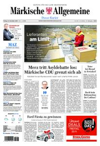 Märkische Allgemeine Dosse Kurier - 23. November 2018