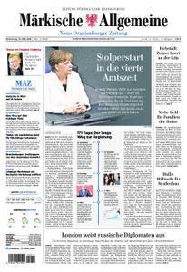Neue Oranienburger Zeitung - 15. März 2018