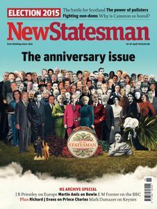 New Statesman - 10 - 16 April 2015
