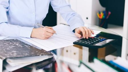 Financial accounting for a service business
