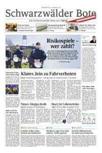 Schwarzwälder Bote St. Georgen, Triberg, Furtwangen - 22. Februar 2018