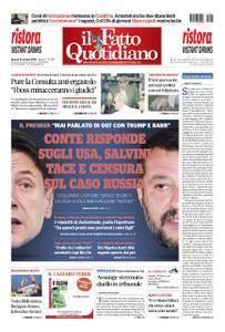 Il Fatto Quotidiano - 24 ottobre 2019