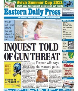 Eastern Daily Press - 28 June 2011