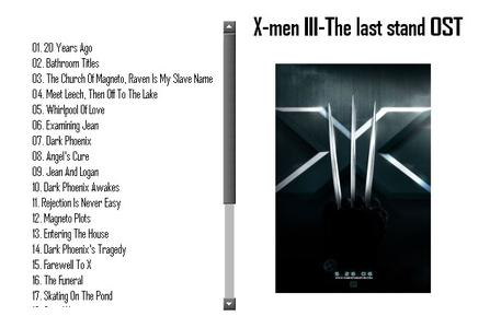 John Powell - X-Men III The Last Stand OST