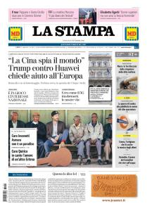 La Stampa Torino Provincia e Canavese - 24 Novembre 2018