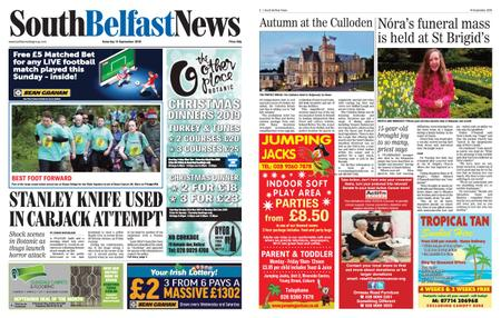 South Belfast News – September 12, 2019