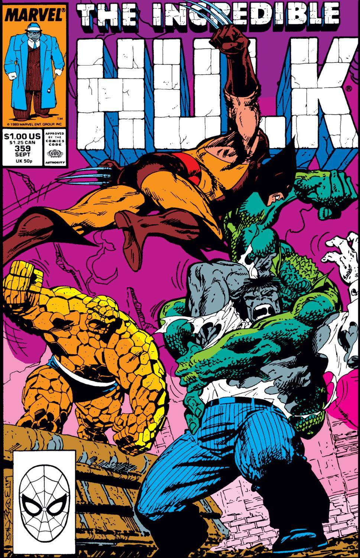 For PostalPops -  Incredible Hulk 359 1989 Digital AnPymGold - Empire cbz