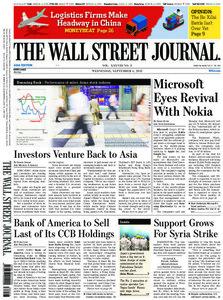 The Wall Street Journal Asia 2013.09.04