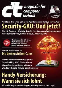 c't Magazin Nr.3 - 20 Januar 2018