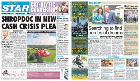 Shropshire Star Shrewsbury Edition – August 23, 2017