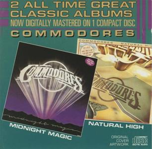 Commodores - Natural High (1978) & Midnight Magic (1979) [1986, Digitally Remastered]