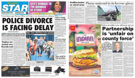 Shropshire Star Shrewsbury Edition – October 05, 2019