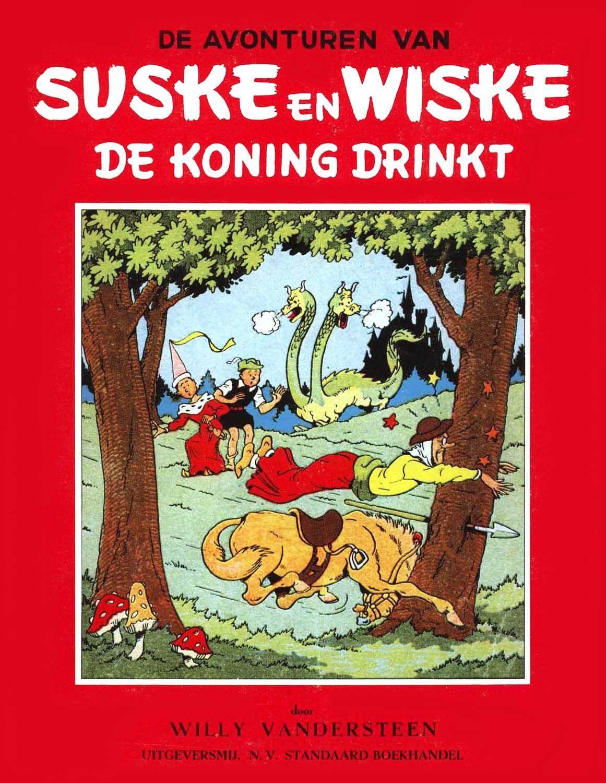 Mad  Diversen  Suske En Wiske - 004 - De Koning Drinkt 1949 cbr