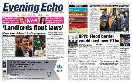 Evening Echo – November 15, 2017