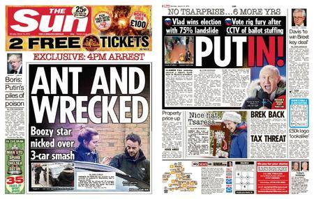 The Sun UK – 19 March 2018