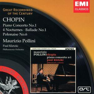 Maurizio Pollini - Chopin: Piano Concerto No. 1, 4 Nocturnes, Ballade No. 1, Polonaise No. 6 (2001)