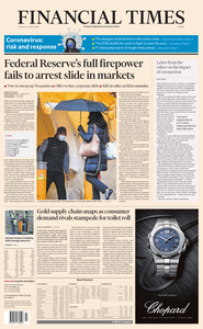 Financial Times Europe - March 24, 2020