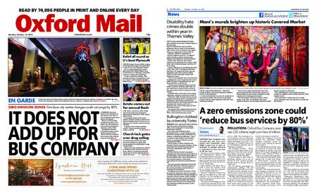 Oxford Mail – October 15, 2018