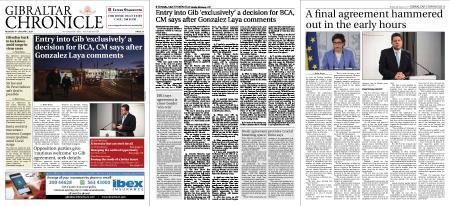 Gibraltar Chronicle – 04 January 2021