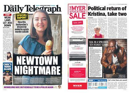 The Daily Telegraph (Sydney) – January 18, 2018