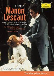 James Levine, Metropolitan Opera Orchestra, Renata Scotto, Placido Domingo - Puccini: Manon Lescaut (2006/1980)