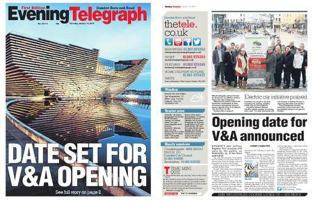 Evening Telegraph First Edition – January 18, 2018