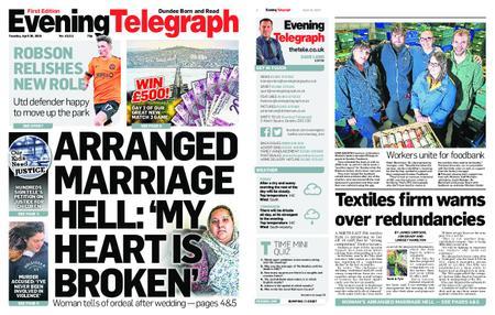 Evening Telegraph First Edition – April 30, 2019