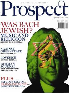 Prospect Magazine - December 1999