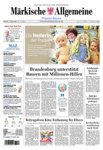 Märkische Allgemeine Prignitz Kurier - 01. August 2018