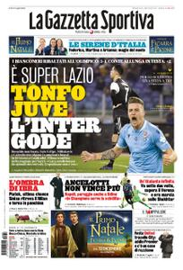 La Gazzetta dello Sport Roma – 08 dicembre 2019