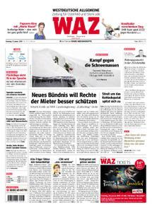 WAZ Westdeutsche Allgemeine Zeitung Oberhausen-Sterkrade - 15. Januar 2019
