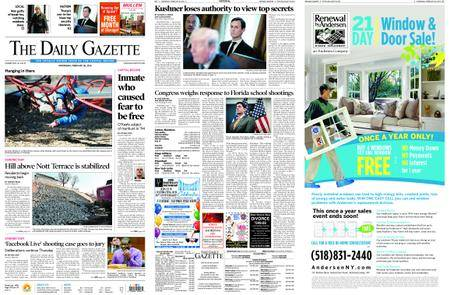 The Daily Gazette – February 28, 2018